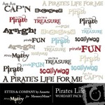 Pirates Life WordArt Pack-$2.00 (Ettes and Company by Annette)