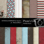 Pirates Life Paper Pack-$3.99 (Ettes and Company by Annette)
