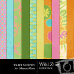 Wild Zing Paper Pack-$4.00 (Traci Murphy)