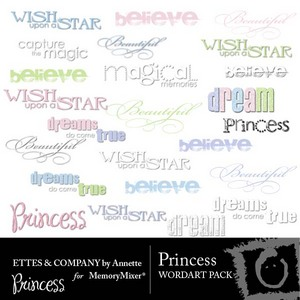 Princesswordart medium