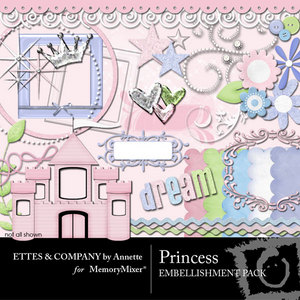 Princessemb medium