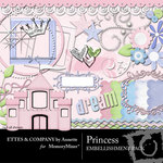 Princess Embellishment Pack-$3.50 (Ettes and Company by Annette)
