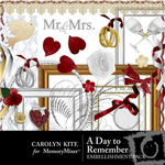 A Day To Remember Embellishment Pack-$2.99 (Carolyn Kite)