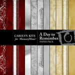 A Day To Remember Paper Pack-$3.99 (Carolyn Kite)