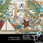Another Day In Paradise Embellishment Pack-$2.99 (Carolyn Kite)