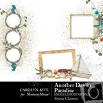 Another Day In Paradise Frame Cluster Pack-$1.25 (Carolyn Kite)