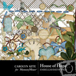 House of Hope Embellishment Pack-$2.99 (Carolyn Kite)