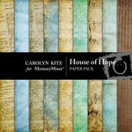 House of Hope Paper Pack-$1.80 (Carolyn Kite)