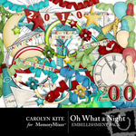 Oh What A Night Embellishment Pack-$2.99 (Carolyn Kite)