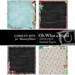 Oh What A Night Stacked Paper Pack-$2.49 (Carolyn Kite)