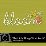 The Little Things WordArt 14 Freebie-$0.00 (Lasting Impressions)