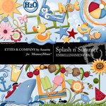 Splash n Summer Embellishment Pack-$3.49 (Ettes and Company by Annette)