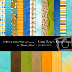 Some Beach Somewhere Paper Pack-$4.00 (Ettes and Company by Fayette)