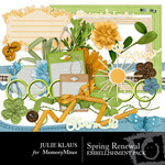 Spring Renewal Embellishment Pack-$2.99 (Julie Klaus)