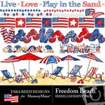Freedom Beach Embellishment Pack-$3.49 (Tara Reed Designs)
