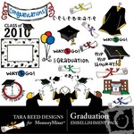 Graduation Embellishment Pack-$3.50 (Tara Reed Designs)