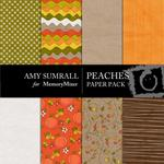 Peaches Paper Pack-$3.99 (Amy Sumrall)