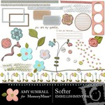 Softer Embellishment Pack-$3.00 (Amy Sumrall)