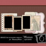Woman QuickMix-$3.49 (Bisous By Suzanne Carillo)