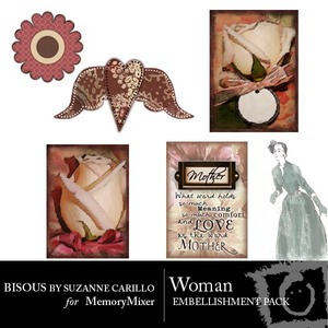 Woman emb medium