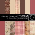 Woman Paper Pack-$4.00 (Bisous By Suzanne Carillo)