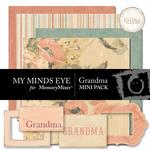Grandma Mini Pack-$1.25 (My Minds Eye)