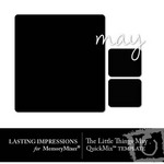 The Little Things May Template QuickMix-$0.00 (Lasting Impressions)