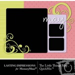 The Little Things May QuickMix-$3.00 (Lasting Impressions)