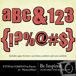 Be Inspired Melon Alphabet Pack-$1.00 (Ettes and Company by Fayette)