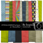 Be Inspired Paper Pack-$4.00 (Ettes and Company by Fayette)