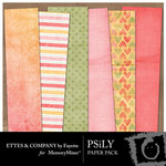 PSiLY Paper Pack-$3.99 (Ettes and Company by Fayette)
