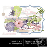 Promise of Spring Embellishment Pack-$3.50 (Julie Klaus)