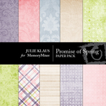 Promise of Spring Paper Pack-$4.00 (Julie Klaus)