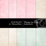 Pretty in Pink Paper Pack-$4.00 (Julie Klaus)