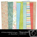Staycation Paper Pack-$4.00 (Ettes and Company by Fayette)