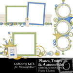 Planes Trains and Automobiles Frame Pack-$2.49 (Carolyn Kite)