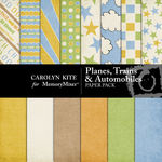 Planes Trains and Automobiles Paper Pack-$3.99 (Carolyn Kite)