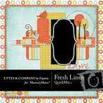 Fresh Linen QuickMix-$4.99 (Ettes and Company by Fayette)