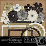 Neutral Embellishment Pack-$3.00 (Albums to Remember)