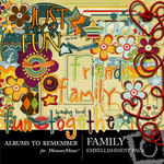 Family Embellishment Pack-$3.50 (Albums to Remember)