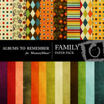 Family Paper Pack-$4.00 (Albums to Remember)