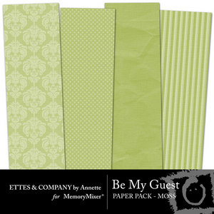 Collagebemyguestpaperpackmoss medium