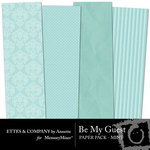 Be My Guest Paper Pack Mint-$2.00 (Ettes and Company by Annette)