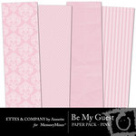 Be My Guest Paper Pack Pink-$2.00 (Ettes and Company by Annette)