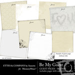 Be My Guest Paper Pack-$3.49 (Ettes and Company by Annette)