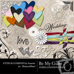 Be My Guest Embellishment Pack-$2.99 (Ettes and Company by Annette)