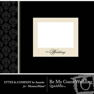 Be my guest wedding medium