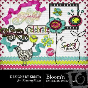 Bloomin embellishment copy medium