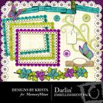 Darlin Embellishment Pack-$2.99 (Designs by Krista)