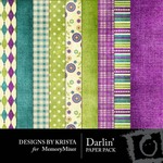 Darlin Paper Pack-$3.99 (Designs by Krista)